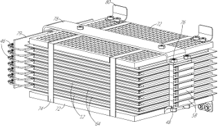 A battery pack designed with thermoelectric graphite heat spreaders that double as resistive heaters for thermal management