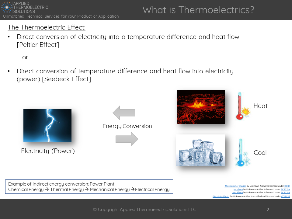 Introduction to Thermoelectrics and Medical Applications | Applied