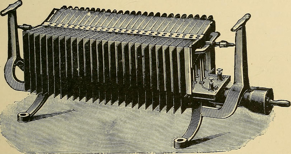 An old thermoelectric generator from 1901